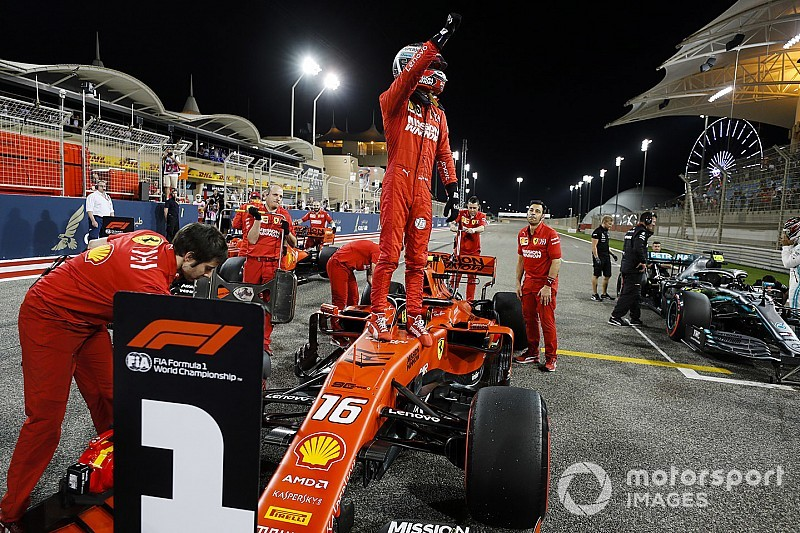 Bahrain GP: Leclerc beats Vettel to score maiden F1 pole