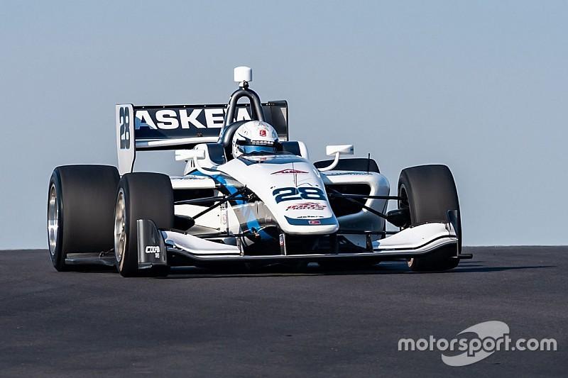COTA Indy Lights: Askew dominates ahead of titanic scrap