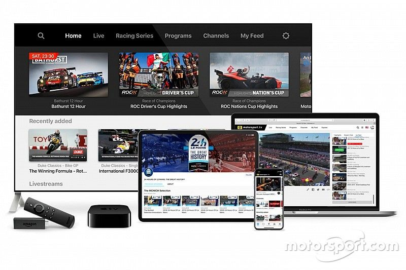 Motorsport.tv launches free-to-air service for fans