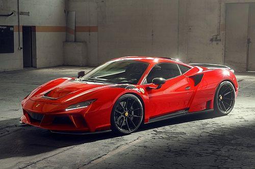 Ferrari F8 Tributo, con Novitec è XL e ha 829 CV