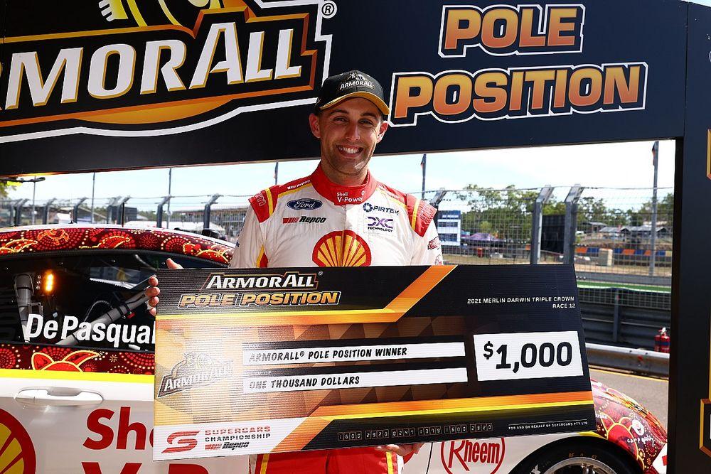 Darwin Supercars: Record-breaking pole for De Pasquale