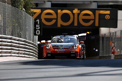 Ten Voorde wint chaotische openingsrace Porsche Supercup in Monaco
