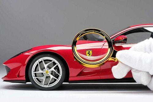 New Ferrari option offers owners Amalgam scale model of their car