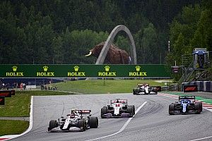 FIA clamps down on drivers waiting in Austria's final corner