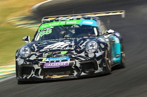 Porsche Cup: Frangulis faz top-10 em treino livre e lidera na classe Trophy