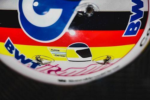Vettel rinde homenaje a Reutemann en el GP de Gran Bretaña