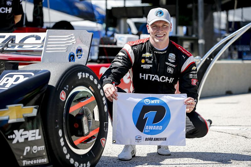 Road America IndyCar: Newgarden takes pole with ace strategy