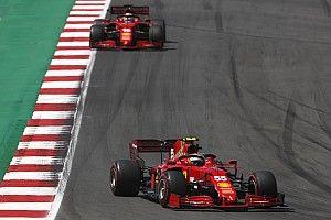 "Leclerc: ""Sainz es muy, muy competitivo"""