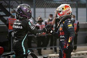 Hamilton wint Grand Prix van Portugal, Verstappen tweede