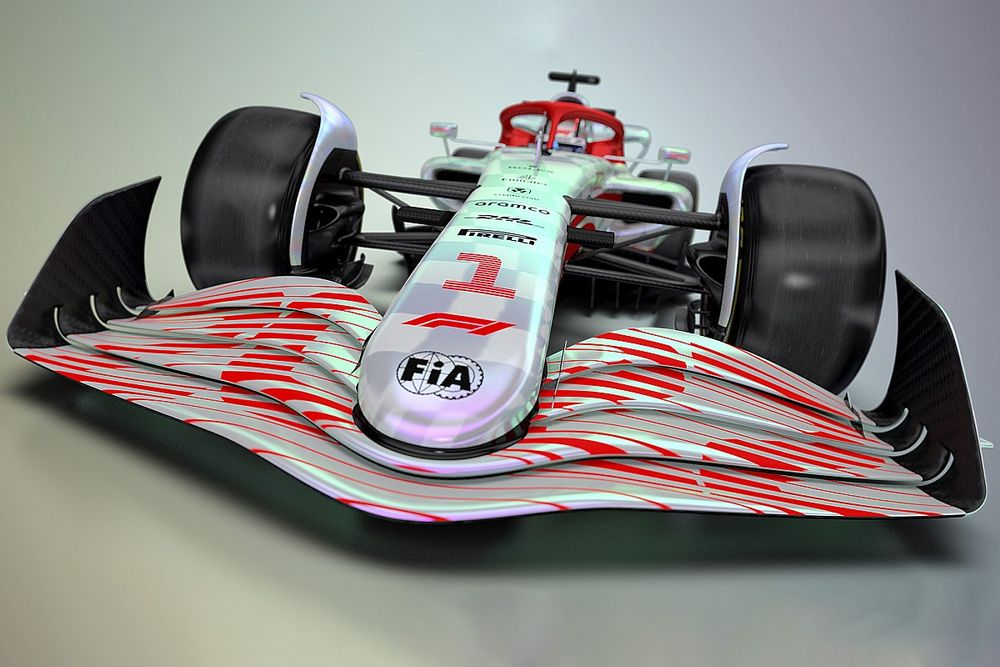 Tech insight: What F1's 2022 full-scale model really tells us