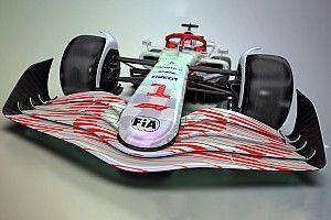 GALERÍA: así es el nuevo monoplaza prototipo F1 2022
