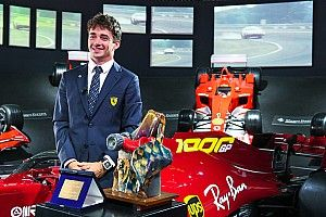 """Leclerc premiato col Trofeo Bandini: """"Che sia di buon auspicio"""""""