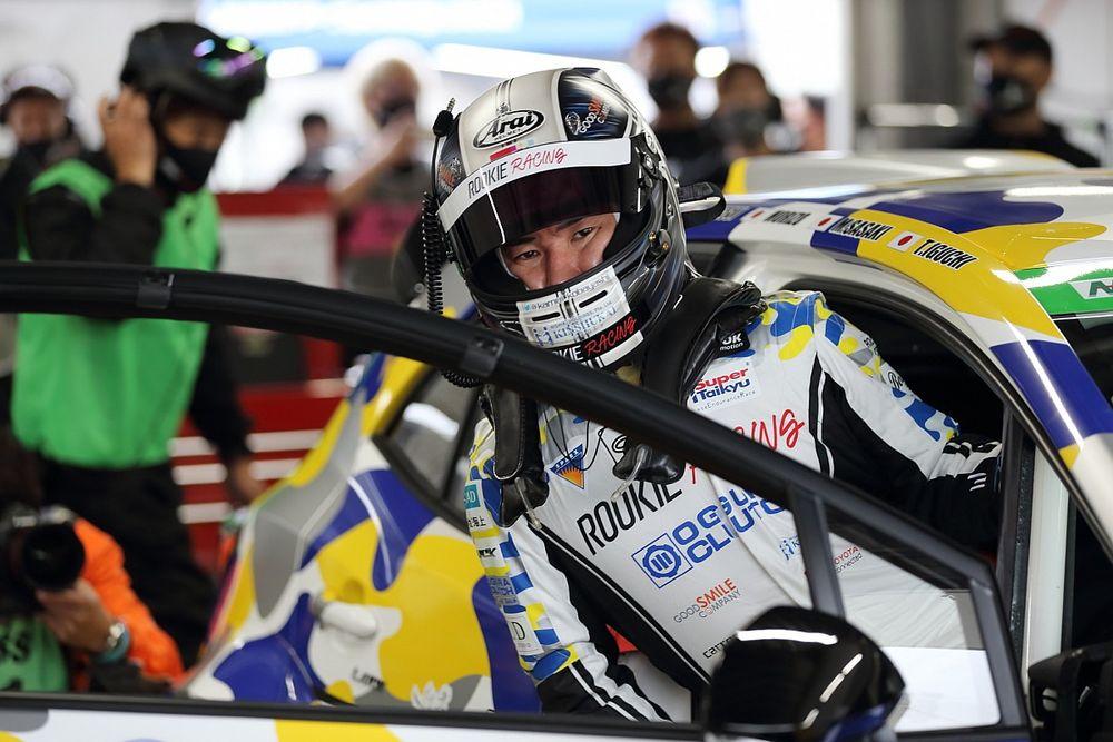 水素エンジン搭載の『カローラスポーツ』駆る小林可夢偉「このマシンには未来がある」|S耐久富士24時間