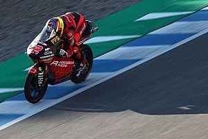 Hasil FP2 Moto3 Prancis: Rodrigo Gemilang, Andi Gilang Kecelakaan