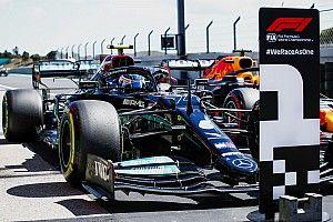 Portekiz GP: Bottas, 0.007 saniye farkla pole pozisyonunu kazandı, Mercedes 1-2!