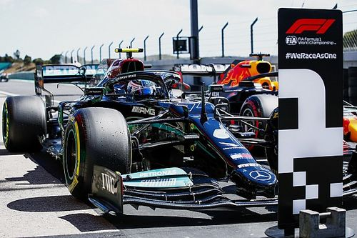 Portuguese GP: Bottas denies Hamilton pole by 0.007s