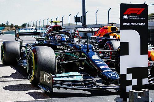 La parrilla de salida del GP de Portugal de F1 en Portimao