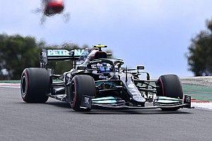 Bottas verslaat Hamilton voor pole in Portugal, Verstappen derde