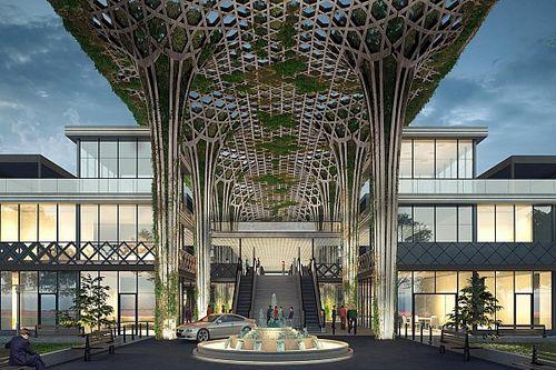 In beeld: Dit is het nieuwe F1-pitcomplex in Saudi-Arabië