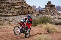 2021 Dakar Rallisi'nin motosiklet sınıfını Benavides ve Honda kazandı!