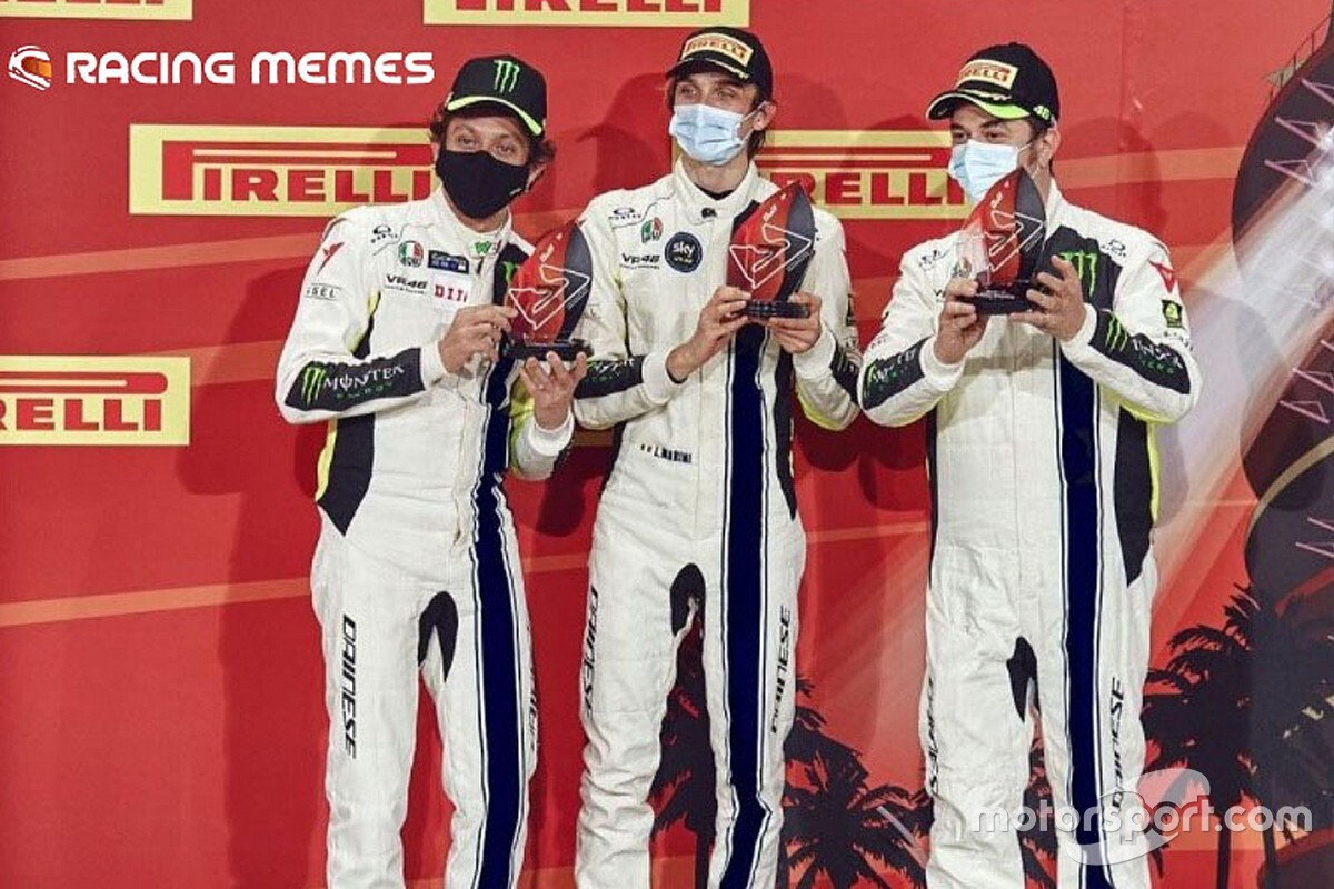 "Rossi: ""Un bel podio contro avversari velocissimi"""