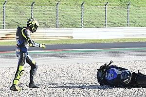 ロッシ、セットアップ変更が奏功せず初日21番手「バイクのバランスを崩してしまった」