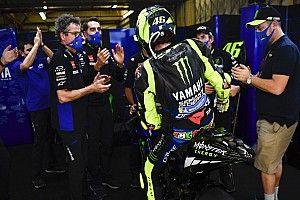 """Rossi: """"Heb genoten van m'n laatste race bij het fabrieksteam"""""""