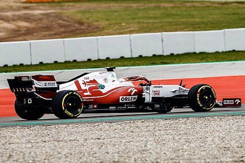 Alfa Romeo, yeni C41'i ilk kez piste çıkardı!