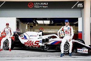 Haas, 2021 F1 aracı VF-21'i tanıttı
