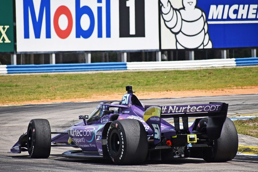 """Dedicated"" Grosjean still faces ""big challenge"" in IndyCar"