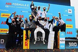 Valensiya E-Prix: Dennis ilk galibiyetini akıllıca sürüşüyle kazandı!