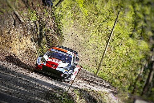 "Toyota praises Ogier for ""professional"" drive after Croatia crash"