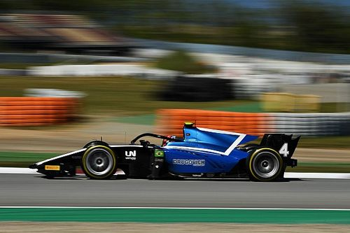 UNI-Virtuosi's Drugovich ends Barcelona F2 test on top