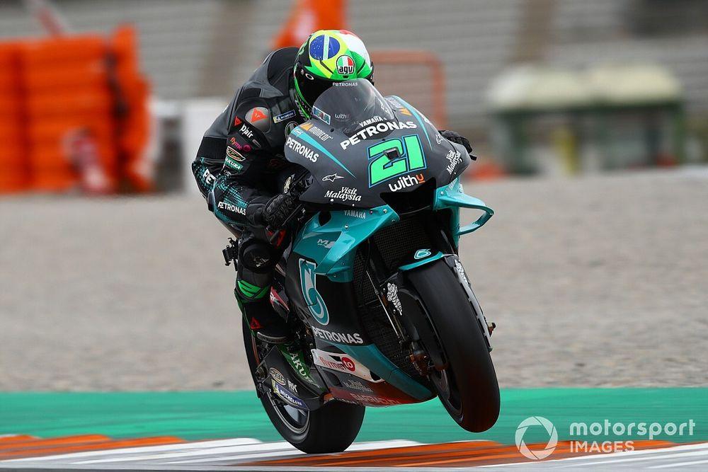 Morbidelli snelste in derde training, Mir plaatst zich voor Q2