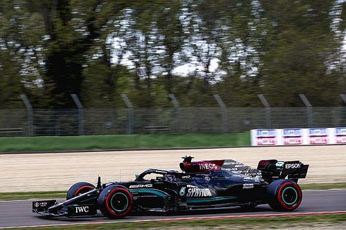 Mercedes Kalah Cepat dari Red Bull di Kualifikasi