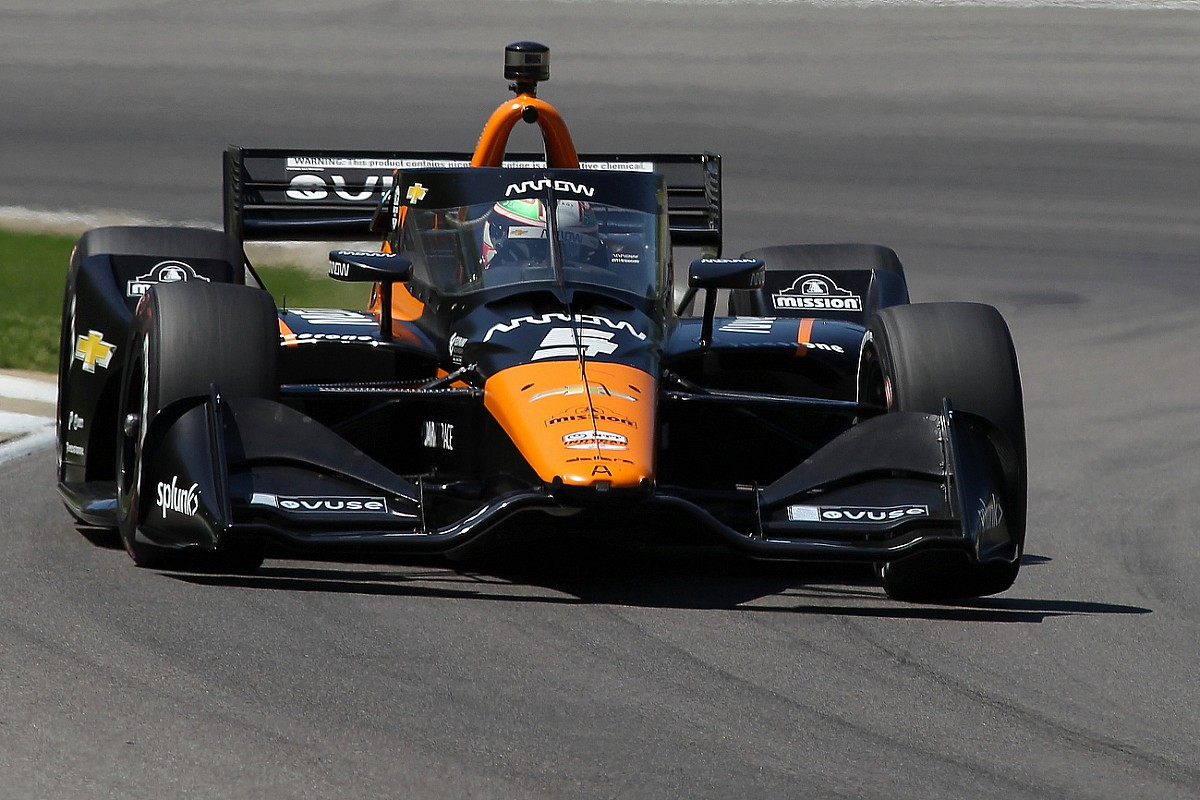 O'Ward: Pole a consequence of hustling an automobile with perfect balance thumbnail