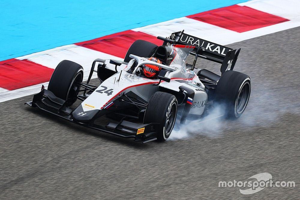 F2, Bahrain: Mazepin svetta nella Libere, Schumacher 10°
