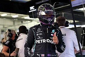 """Lewis Hamilton en pole car """"libéré"""" par son titre"""