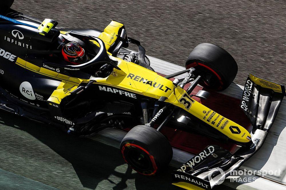 F1: Ocon relembra temporada de 'ajustes' na Renault
