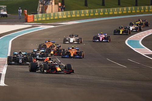 WK-eindstand 2020 na de Formule 1 Grand Prix van Abu Dhabi