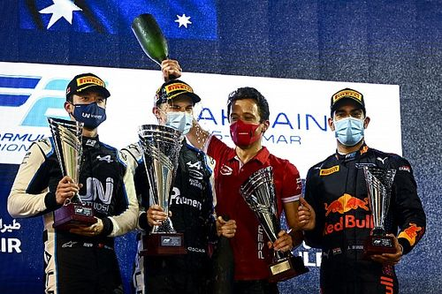 F2 Bahreyn: Piastri son turdaki atağıyla kazandı, Lundgaard ikinci oldu