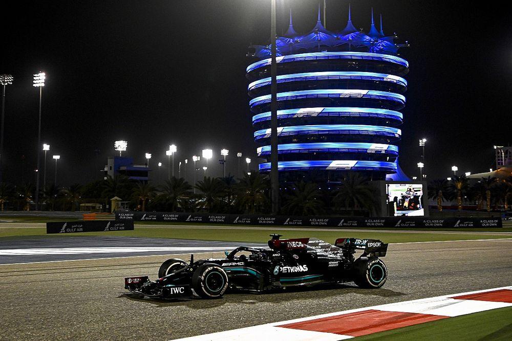 Hasil Lomba F1 GP Bahrain: Hamilton Menang Dramatis