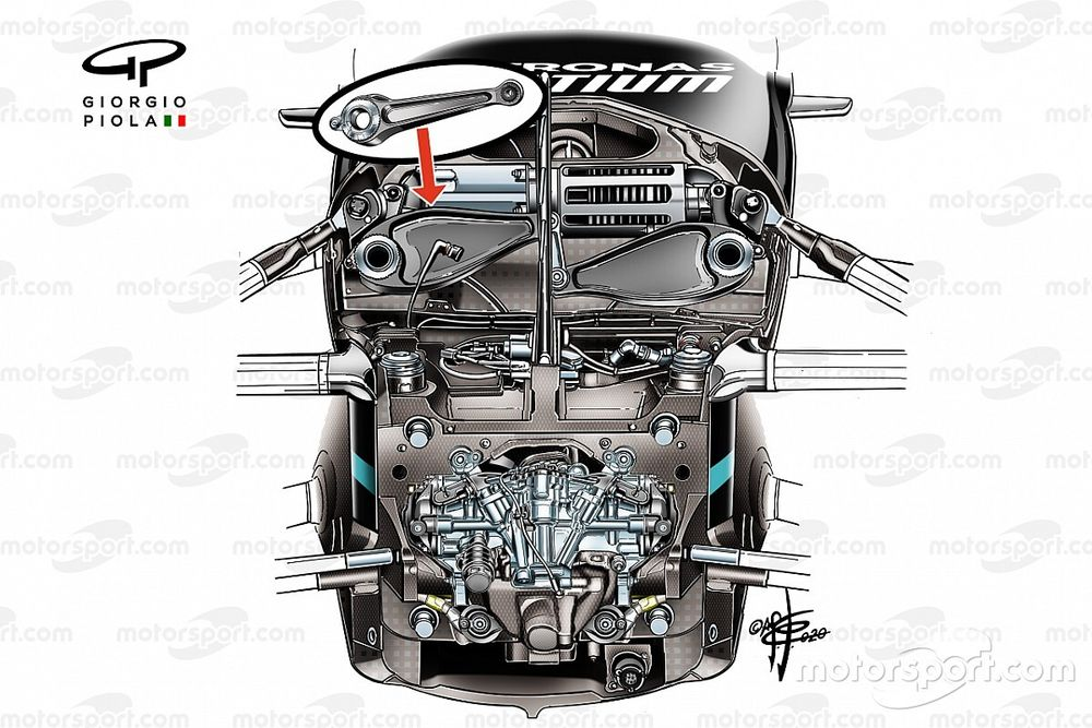 Mercedes: la W11 laboratorio è frutto di un piano preciso