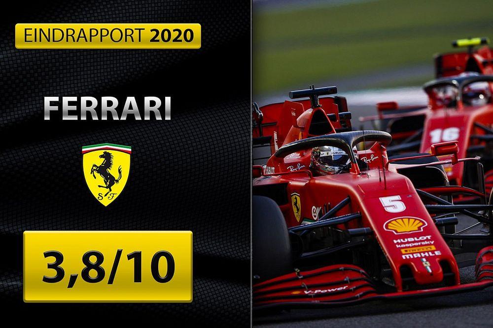 Eindrapport Ferrari: Een blamage in het jubileumjaar