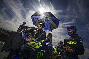 Valentino Rossi esta semana dio positivo en un test de coronavirus