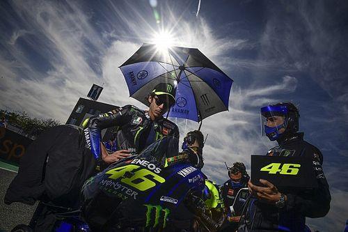 Valentino Rossi volvió a dar positivo en COVID-19 el martes