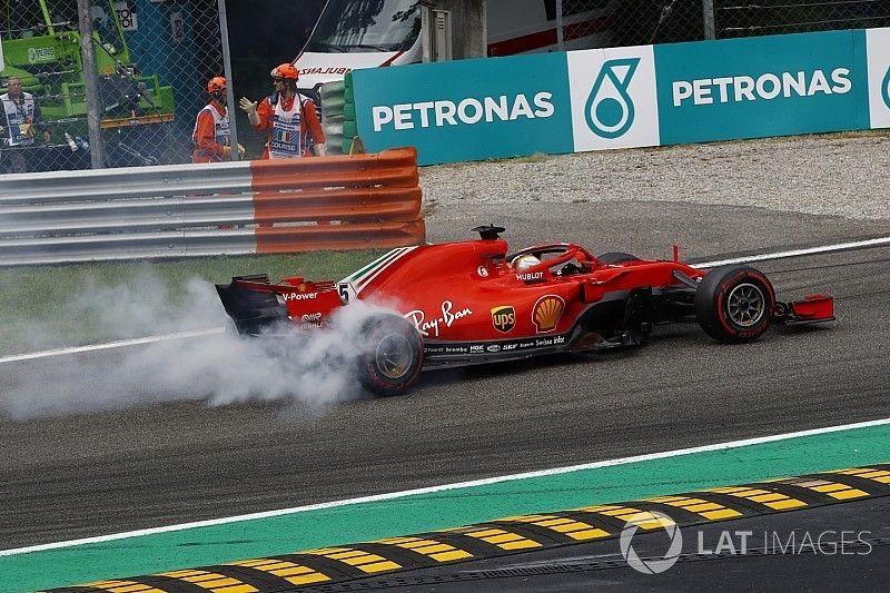 """Vettel descarta preocupação após GP da Itália: """"Temos ritmo"""""""