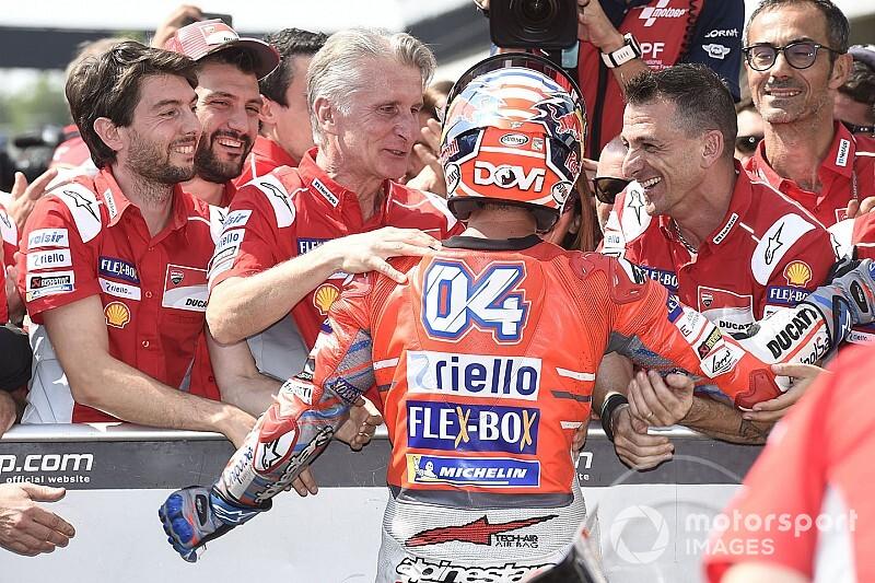 Pour Ducati, la place de Dovizioso n'est pas à remettre en question