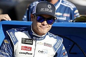 """Larson just happy to finish second after """"hectic"""" playoff opener"""