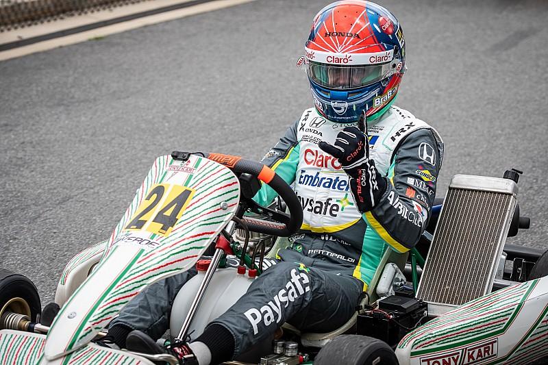 Pietro Fittipaldi volvió a la pista y anuncia nuevas actividades